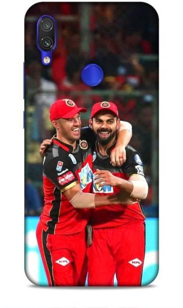 MAPPLE Back Cover for Redmi Note 7 Pro (Virat Kohli / IPL / Cricket / Team / RCB / Bangalore)
