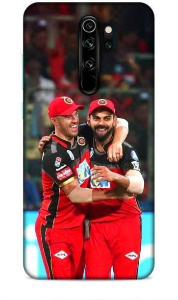 MAPPLE Back Cover for Redmi Note 8 Pro (Virat Kohli / IPL / Cricket / Team / RCB / Bangalore)