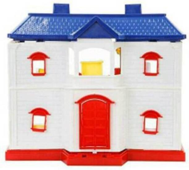 Tenmar Doll House Set for Girls (Multicolor)