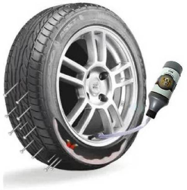 Riya Touch Tyre Sealer, Tyre Sealant, Tube and Tubeless Tyre Sealant For Puncture_PR1415 Tubeless Tyre Puncture Repair Kit
