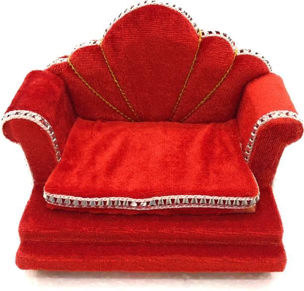 NAVRANG Ladoo Gopal Sinhasan Thakorji Singhasan Wooden All Purpose Chowki