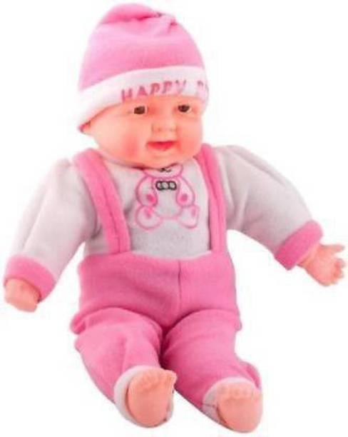 Tenmar Laughing Boy Birthday Boy Baby Doll (Multicolor)