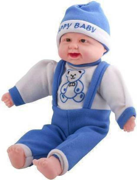 Tenmar Baby Musical and Laughing Boy Doll