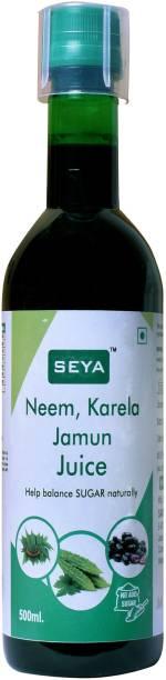 seya Neem, Karela, Jamun, Juice Help Balance Sugar Naturally