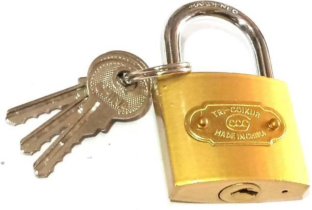 nawani Door Pad Lock Heavy Ultra Key 50 mm, Size 7/5 cm Lock