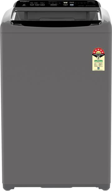 Whirlpool 7 kg 5 Star, Hard Water wash Fully Automatic Top Load Grey