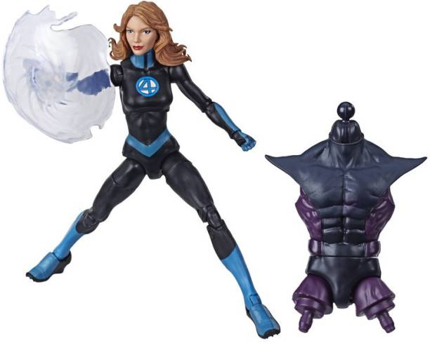 MARVEL Legends Series Fantastic Four 6-inch Collectible Action Figure Mrvls Invisible Woman Toy