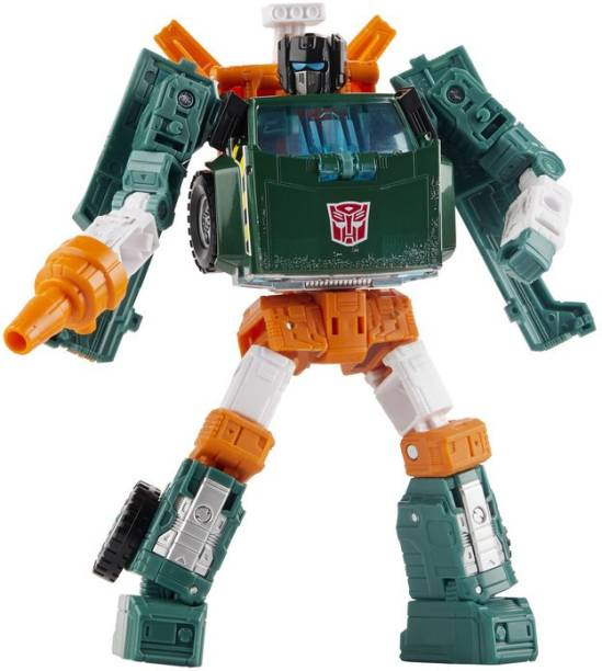 TRANSFORMERS Toys Generations War for Cybertron: Earthrise Deluxe WFC-E5 Hoist Action Figure, Ages 8&Up, 5.5-inch