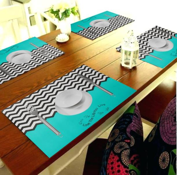 Aradent Rectangular Pack of 8 Table Placemat