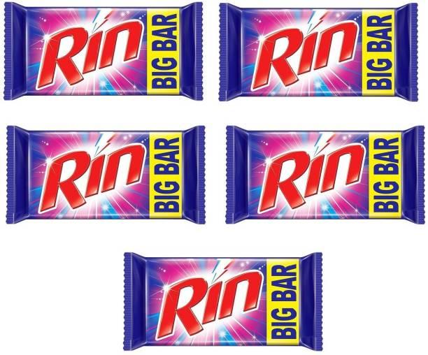 RIN Detergent Bar 200gm (PACK OF 5) Dishwash Bar