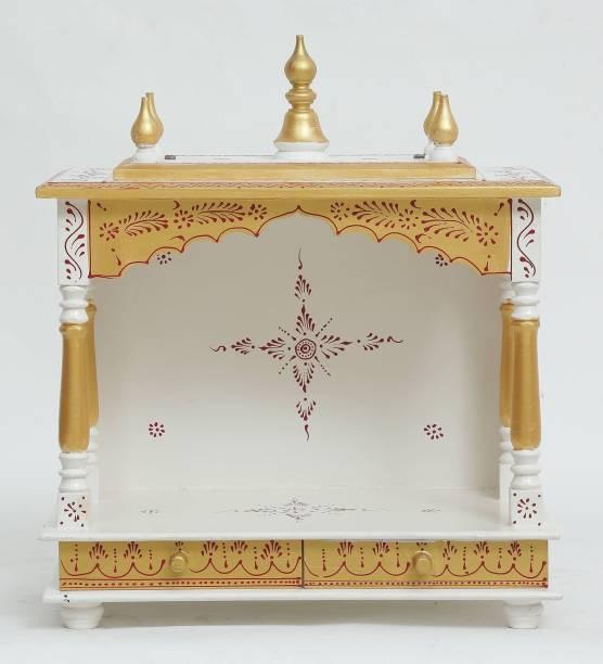 Marusthalee Puja Ghar Solid Wood Home Temple
