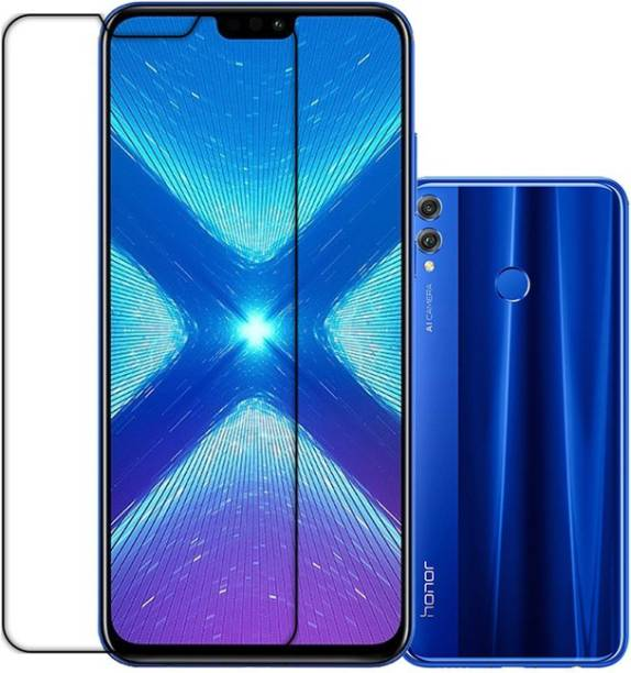 DVS MOBILE ACCESSORIES Front and Back Tempered Glass for Honor 8X