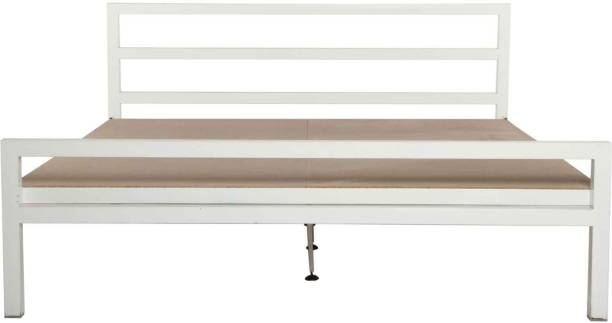 VYOM DESIGN Blanche Metal King Bed
