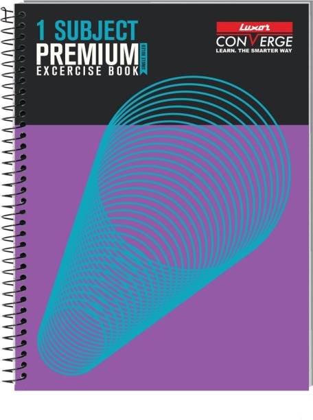 LUXOR 20722Exercise book SingSub,160Pg,20.3*26.7cm Regular Notebook Ruled 160 Pages