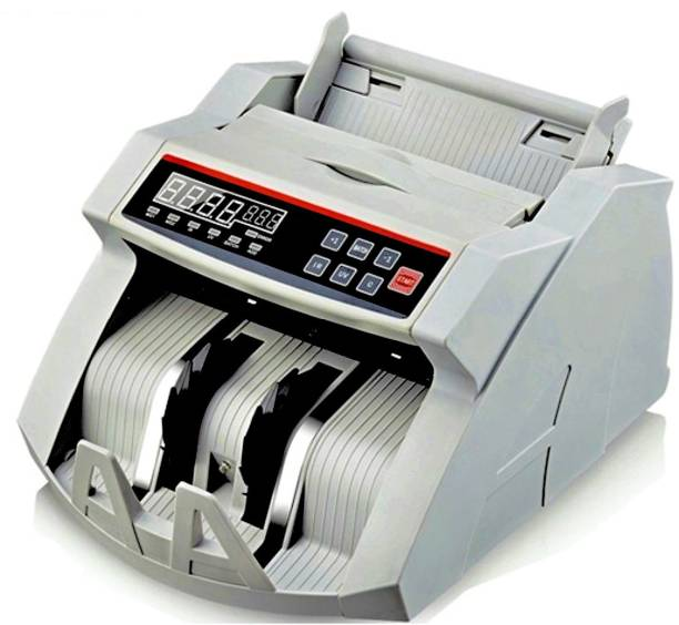 Drop2Kart Dual Motor HeavyDuty Counter with UV/MG1/MG2 FakeNote Sensor, ADD/BATCH Mode & Supports All INR Note Counting Machine