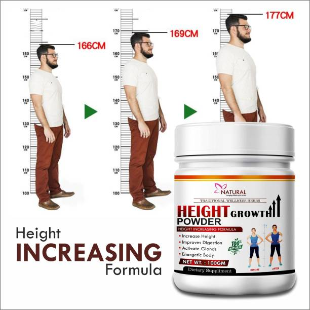 Riffway Height Growth Powder For Helps to grow taller 100% Ayurvedic