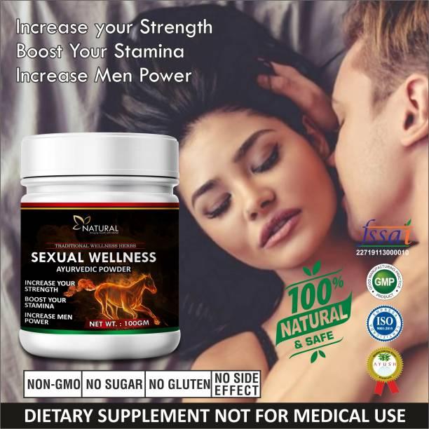 Natural Sexual Wellness Sexual Powder ling mota lamba karne ki Dawai/ Sex Power Badhane Ki Dawa 100% Pure