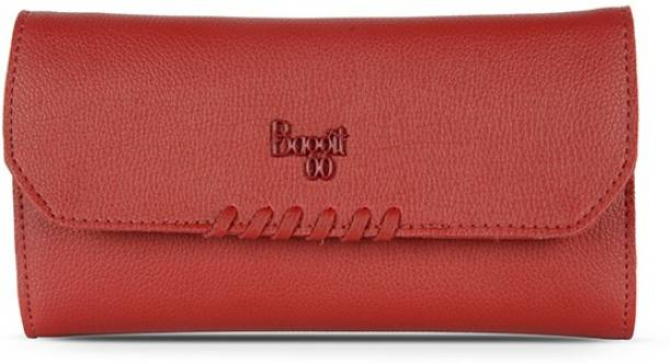 Baggit Women Red Artificial Leather Wallet