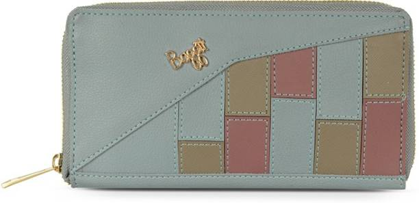 Baggit Women Blue Artificial Leather Wallet
