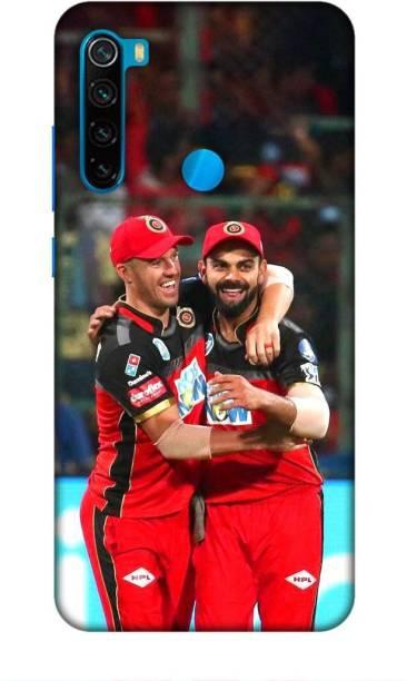 MAPPLE Back Cover for Redmi Note 8 (Virat Kohli / IPL / Cricket / Team / RCB / Bangalore)