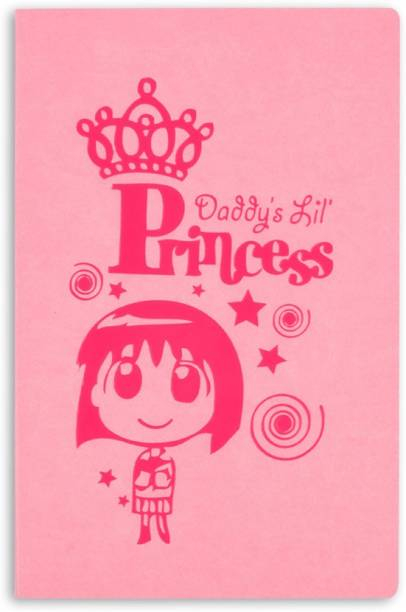 doodle Royalty Notebook A5 Diary Ruled 160 Pages