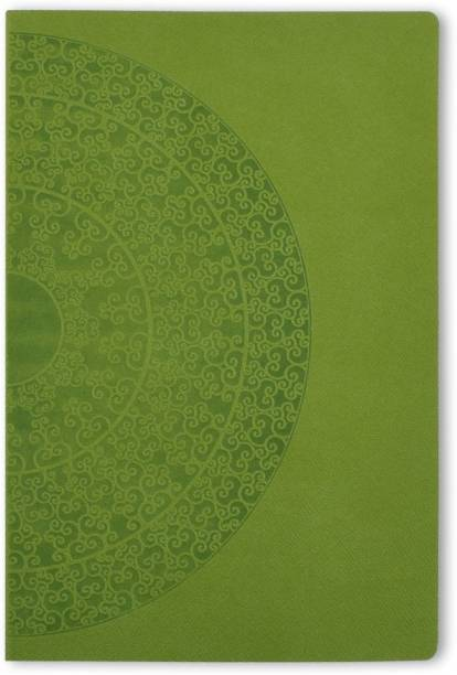 doodle Ethnic wheel Notebook A5 Diary Ruled 160 Pages