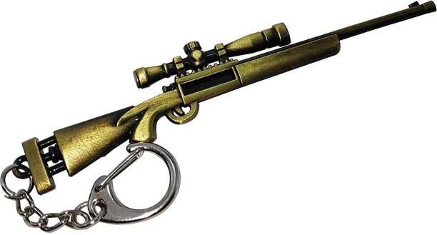 MASHKI Player Unknown Battle Ground m24 Key chain PUBG Gun Sniper Key Ring keychain Key Chain