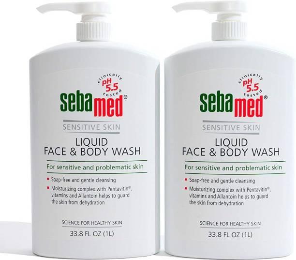 Sebamed Soap Free Face & Body Wash