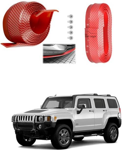 PECUNIA Car Body Bumper Rubber Edge Trim Protector for UNIVERSAL FOR CAR (Red) A66 Car Beading Roll For Bumper