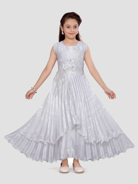 3SIX5 Girls Maxi/Full Length Party Dress
