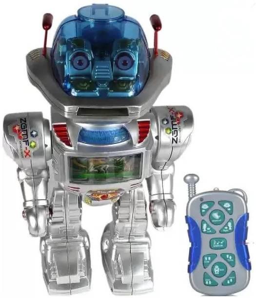 SANJARY Remote Control Disc Shooting Dancing Robot