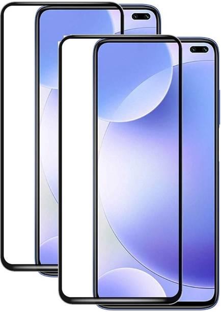 IPAKY Edge To Edge Tempered Glass for Realme 6 Pro, Realme X3, Realme X3 SuperZOOM, Realme X50