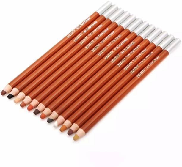 worisonn 12 round Shaped Color Pencils