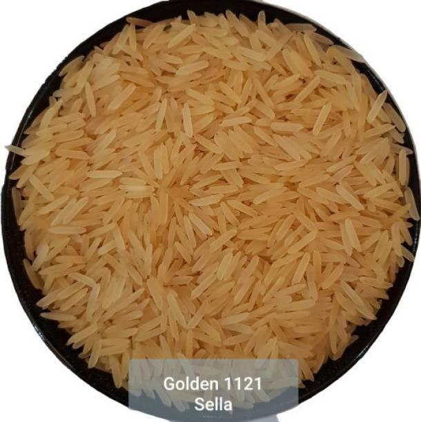 Real Basmati 1121 Golden Sella Yellow Basmati Rice (Long Grain)