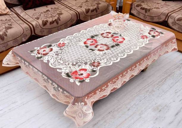 GAURANG Embroidered 4 Seater Table Cover