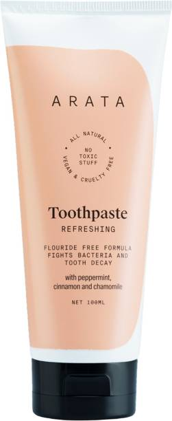 ARATA Natural Refreshing Toothpast Toothpaste