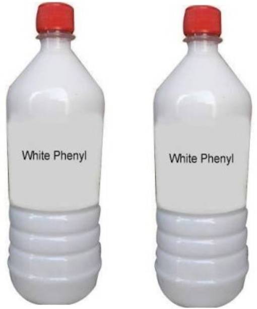 SoftTech White Phenyl 1ltr (Pack of 2) Floral