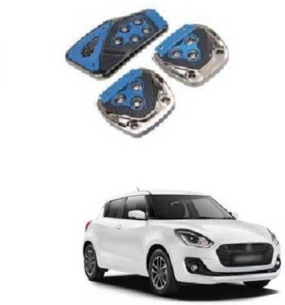 ACCESSOREEZ Car NON SLIP pedal Kit cover MX2557 ( CLUTCH PEDAL , BREAK PEDAL & ACCELERATOR PEDAL ) UNIVERSAL FOR ALL INDIAN MODELS Car Pedal