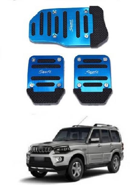 ACCESSOREEZ Car NON SLIP pedal Kit cover GJ3112 ( CLUTCH PEDAL , BREAK PEDAL & ACCELERATOR PEDAL ) UNIVERSAL FOR ALL INDIAN MODELS Car Pedal