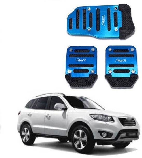 ACCESSOREEZ Car NON SLIP pedal Kit cover GJ3130 ( CLUTCH PEDAL , BREAK PEDAL & ACCELERATOR PEDAL ) UNIVERSAL FOR ALL INDIAN MODELS Car Pedal