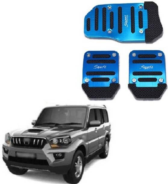 ACCESSOREEZ Car NON SLIP pedal Kit cover GJ3176 ( CLUTCH PEDAL , BREAK PEDAL & ACCELERATOR PEDAL ) UNIVERSAL FOR ALL INDIAN MODELS Car Pedal