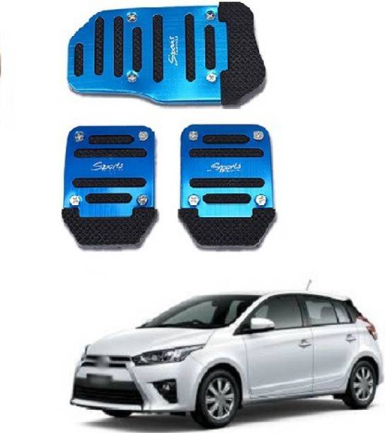 ACCESSOREEZ Car NON SLIP pedal Kit cover GJ3139 ( CLUTCH PEDAL , BREAK PEDAL & ACCELERATOR PEDAL ) UNIVERSAL FOR ALL INDIAN MODELS Car Pedal