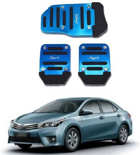 ACCESSOREEZ Car NON SLIP pedal Kit cover GJ3153 ( CLUTCH PEDAL , BREAK PEDAL & ACCELERATOR PEDAL ) UNIVERSAL FOR ALL INDIAN MODELS Car Pedal