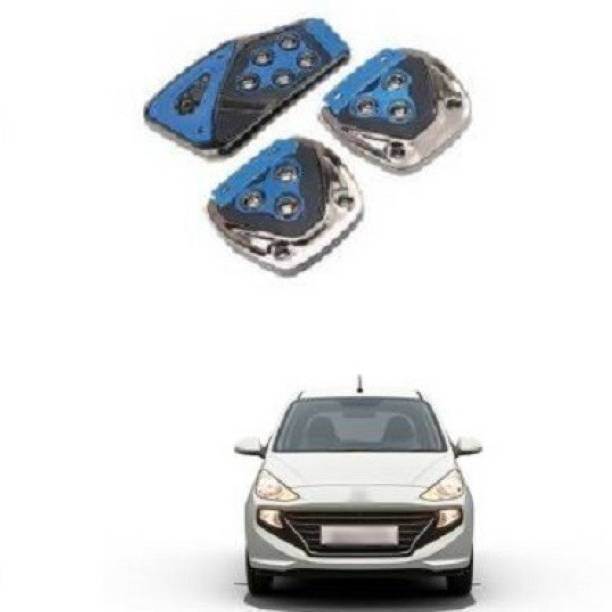 ACCESSOREEZ Car NON SLIP pedal Kit cover MX2572 ( CLUTCH PEDAL , BREAK PEDAL & ACCELERATOR PEDAL ) UNIVERSAL FOR ALL INDIAN MODELS Car Pedal