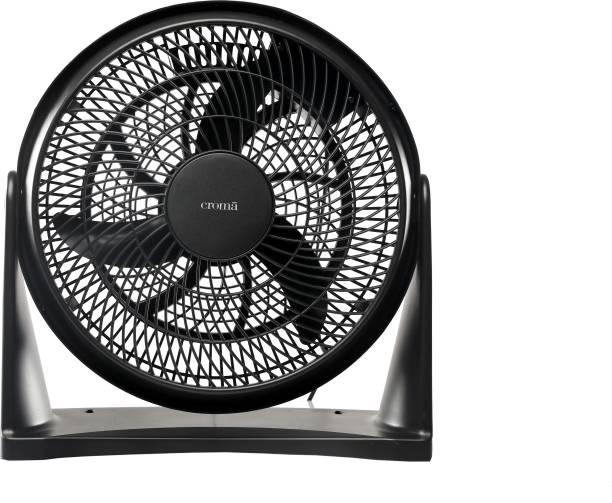 Croma Pivot Fan 300 mm Silent Operation 3 Blade Table Fan