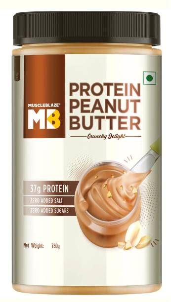 MuscleBlaze High Protein Natural Peanut Butter 750 g