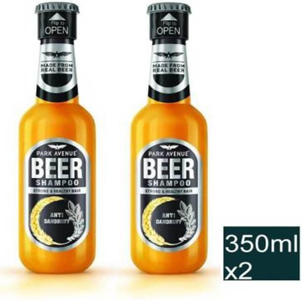 PARK AVENUE Anti-Dandruff Beer Shampoo, 350ml 2 units (700 ml)