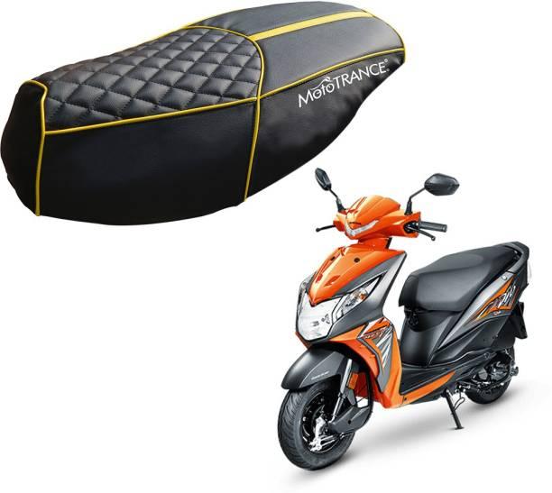 MOTOTRANCE MTSC36206 Single Bike Seat Cover For Honda Dio