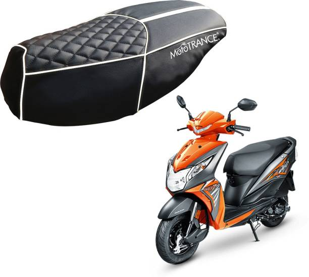 MOTOTRANCE MTSC36205 Single Bike Seat Cover For Honda Dio