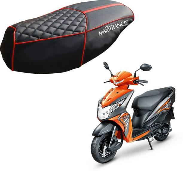 MOTOTRANCE MTSC36204 Single Bike Seat Cover For Honda Dio